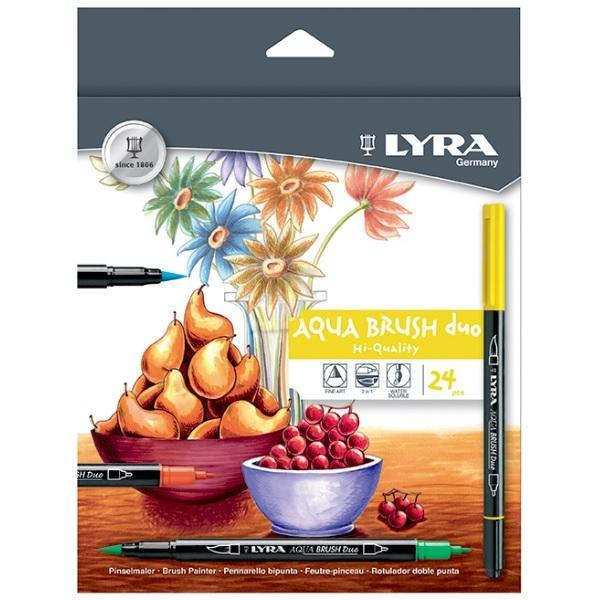 Fix LYRA Aqua Brush Duo - VAN DYCK HNĚDÁ