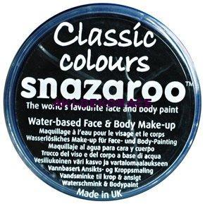 Barva na obličej SNAZAROO- černá 18ml