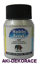 STŘÍBRNÁ, Hobby Acryl, 59ml,(804)