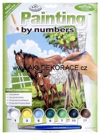 Koně,Malování,podle,čísel,
