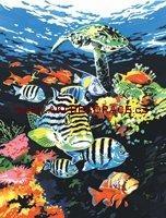 Malování,podle,čísel,na,plátno,Rybky,