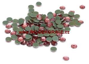 3mm,(10ss),Růžové ,nažehlovací,korálky,