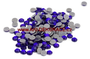 5mm,(20ss), Kobalt ,nažehlovací,korálky,
