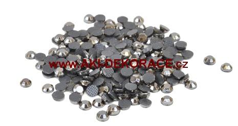 5mm,(20ss), Metalicky šedé ,nažehlovací,korálky,