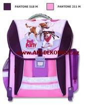Školní,batoh,Dog party,