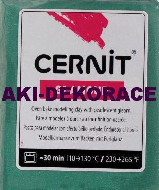 CERNIT,GLAMOUR,modelovací,hmota,ZELENÁ,56g,