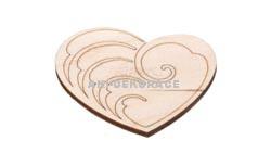 Magnet srdce 1- 60x55x3mm