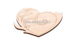 Magnet srdce 2- 70x50x3mm
