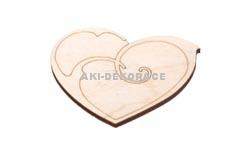 Magnet srdce 3- 60x50x3mm