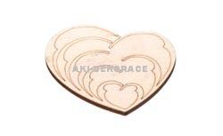 Magnet srdce 4- 60x55x3mm