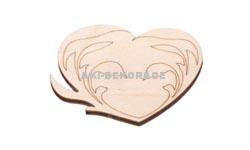 Magnet srdce 5- 60x55x3mm