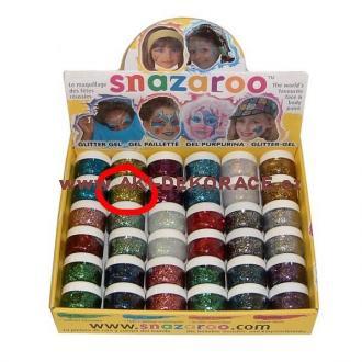 Snazaroo- barvy na obličej - Třpytivý gel ZLATÝ 12ml