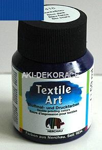 BARVA,TEXTIL Art,tmavě modrá,59ml,