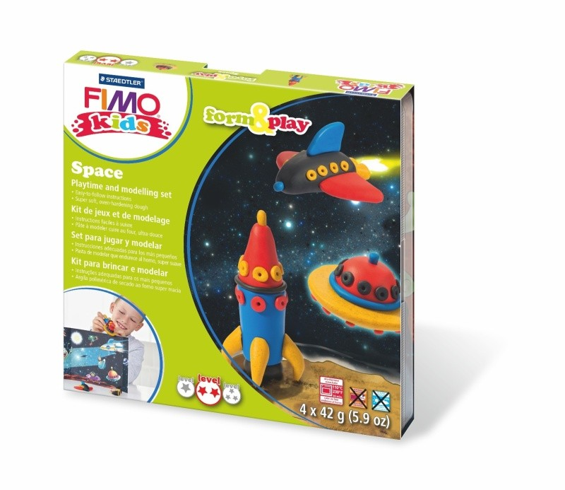 FIMO,SOFT,SPACE,4x42g,