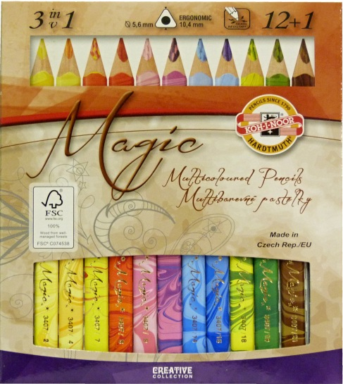 Pastelky,MAGIC,12+1,