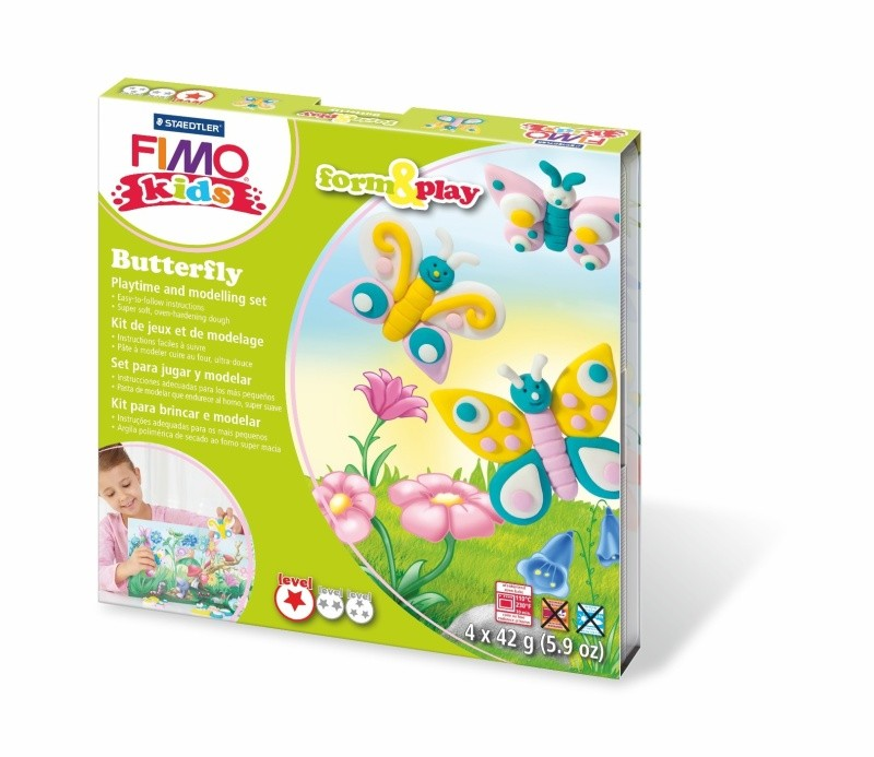 FIMO,SOFT,Form&Play ,4x42g,