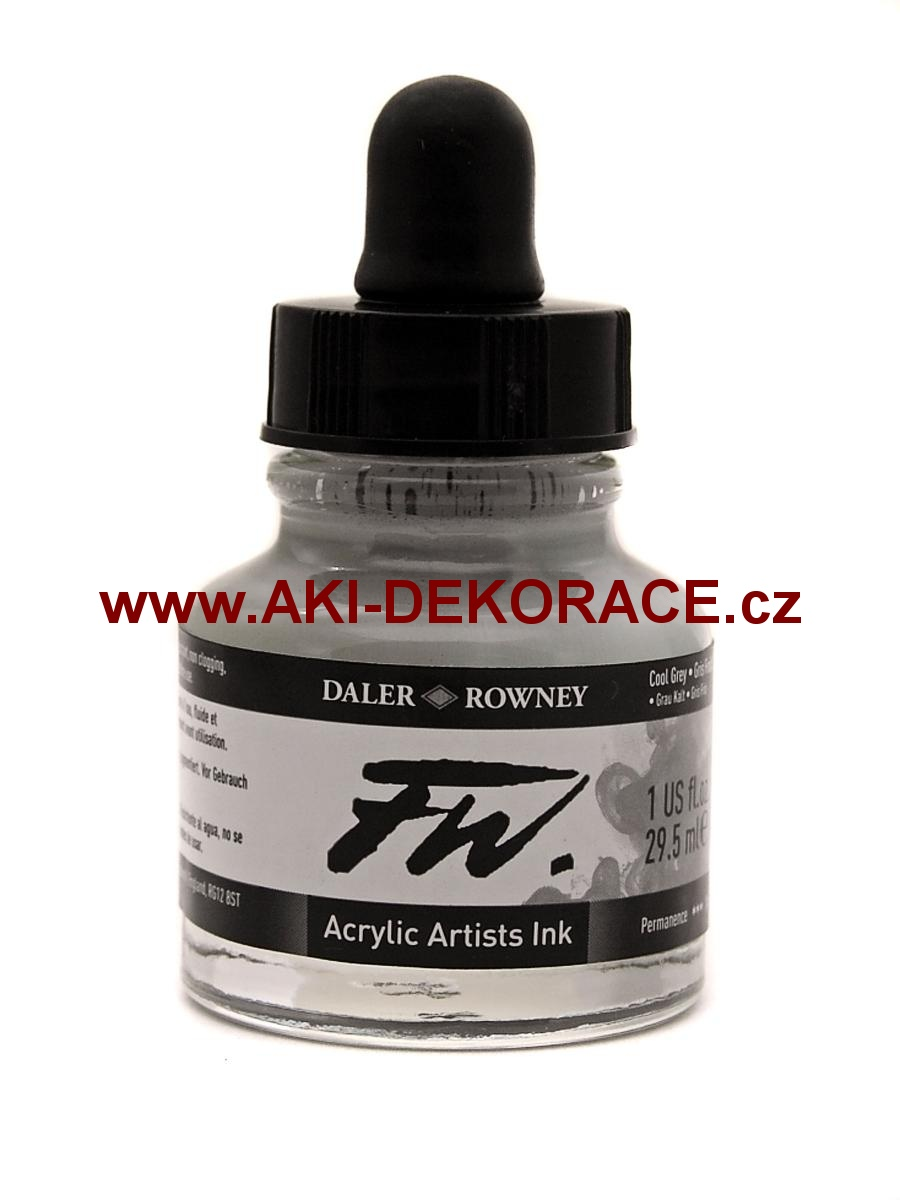 ŠEDÁ TUŠ FW INK 29,5ml (053)
