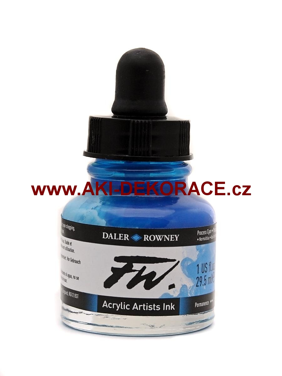 PROCESS CYAN TUŠ FW INK 29,5ml(120)