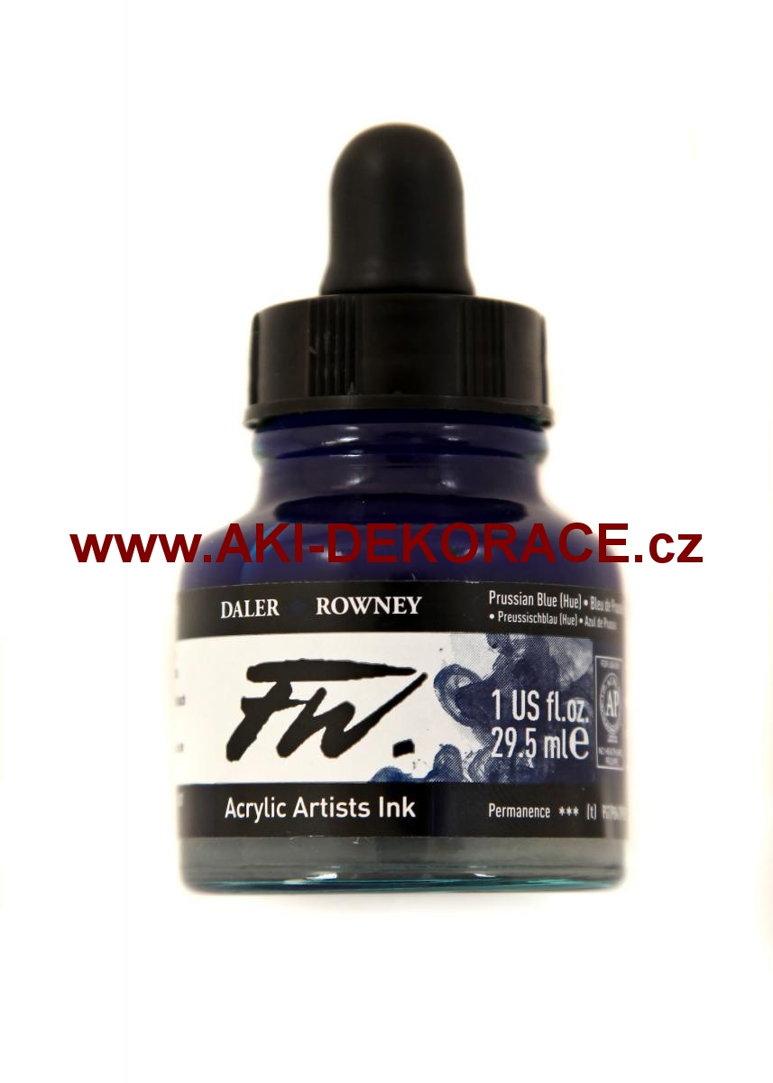 PRUSSIAN BLUE TUŠ FW INK 29,5ml(134)