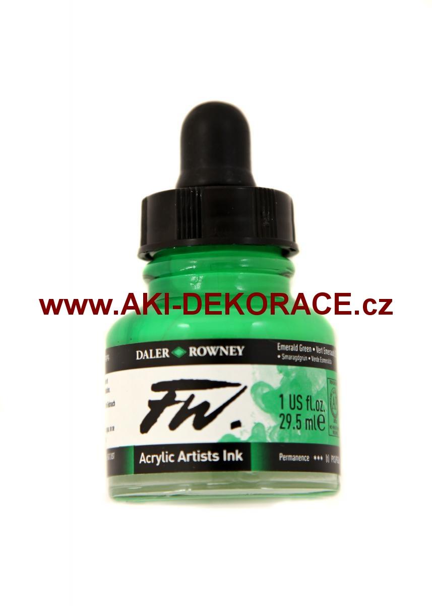 EMERALD ZELENÁ TUŠ FW INK 29,5ml(335)