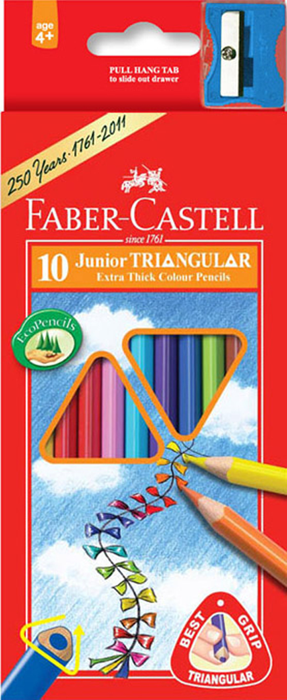 Pastelky Faber-Castell 10ks JUNIOR