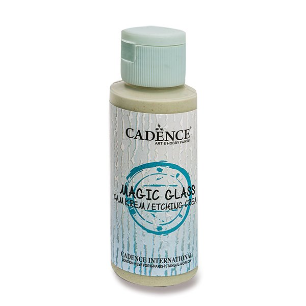 Leptací médium na sklo Cadence Magic glass - 59 ml